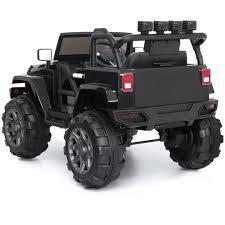 100 Heavy Duty Truck Wheels 12V Jeep Ride On Car Power W Remote Control