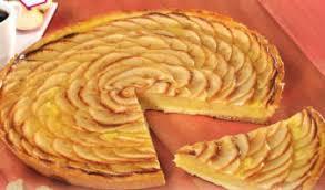 recette dessert aux pommes recettes desserts tarte aux pommes à la crème