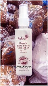 Organic Hand And Foot Care Lotion By Rustic Art