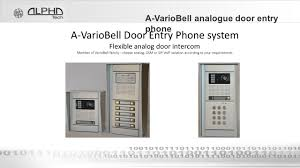 ALPHATECH TECHNOLOGIES S.r.o. A-VarioBell Door Entry Phone - Ppt ... Telephone Hybrid Wikipedia Cisco Voip Intercom System Informacastready 011306 Business Data Cabling And Security Systems Huntsville Commsec Tcp Ip Door Access Control Sip Bell Phone Audio Indoor Voip Sip Ip Intercom Door Phone Youtube Panasonic Entry Phones Entry Station Paging Bells Enhancement Pbx Suppliers
