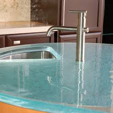 104 Glass Kitchen Counter Tops Round Tops By Thinkglass Inc Archello