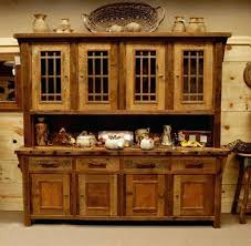 Dining Room Hutch Rustic Mesmerizing Reclaimed Wood Is Fashioned Into Furniture