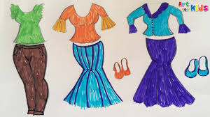 How To Draw Fashion Homely Ideas 22 Clothes For Kids Dresses