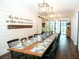 Farmhouse Dining Room Wall Decor Ideas For Appealing Rustic With Best Rooms On
