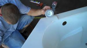 Bathtub Overflow Plate Gasket by Installing A Drain And Overflow Youtube