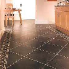 Tile Flooring Ideas For Dining Room by Flooring Ideas Wite Ceramic Tile Fooring With Three Small Dining