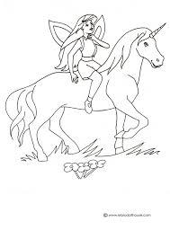 Unicorn Pegasus Coloring Pages For Kids 128