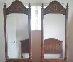 Drexel Heritage Dresser Mirror by Vtg Drexel Heritage Carved Wood Dresser Headboard In Temecula