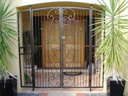 Modern Style Metal Security Double Doors With Quality Steel