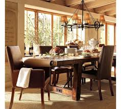 Dining Room Table Decorating Ideas by Cool Decorating Ideas Using Rectangular Black Iron Bench Also With