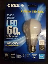 cree led light bulb ebay