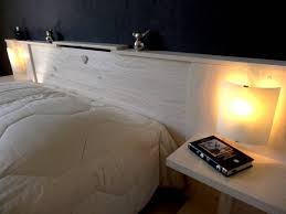 chambre avec tete de lit lit taate luminaire meuble chambres coucher avec tete chevet