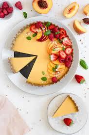 sommerpfirsichtorte summer vegan recipes summer tart