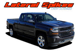 100 Chevy Decals For Trucks LATERAL SPIKES Silverado Stripes Silverado Silverado