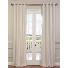Target Blue Grommet Curtains by Half Window Curtains A Simple Curtain Rod Is Mounted Above And