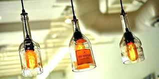 New Wine Bottle Pendant Light Gorgeous Vintage Lights Diy
