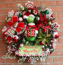 Whoville Christmas Tree Decorations by Irish U0027s Wreaths Where The Difference Is In The Details