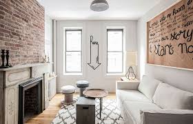 refined monochromatic rental apartment in new york city