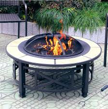 pits create an inviting outdoor environment with the