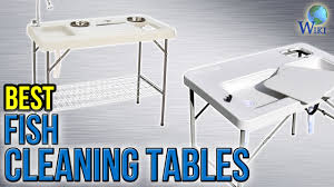 Fish Cleaning Station With Sink by 6 Best Fish Cleaning Tables 2017 Youtube