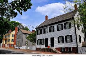 Colonial Homes by Colonial Homes Stock Photos Colonial Homes Stock Images Alamy