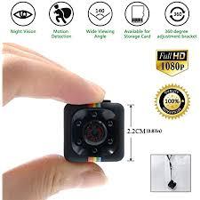 mini kamera spycam hd 1080p überwachungskamera nanny mit bewegungserkennung und infrarot nachtsicht die kompakteste versteckte kameras