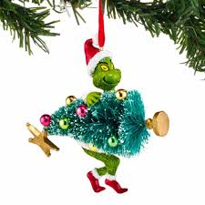 The Grinch Christmas Tree by Grinch Stealing Tree Ornament Annual Ornaments Direct