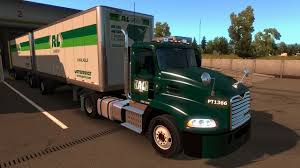 100 Rmds Trucking American Truck Simulator RL Carrier Pulling Doubles YouTube