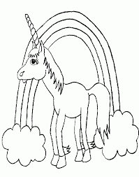 Mobile Coloring Printable Unicorn Pages On For Kids Az