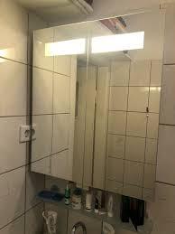 allibert badezimmer spiegelschrank inkl beleuchtung
