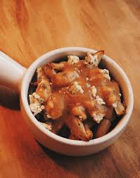 poutine cuisine poutine with tofu cheese curds