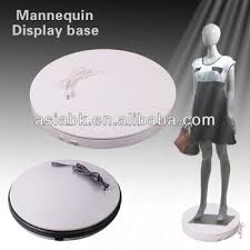 Mannequins Spinning Display Stand For Fashion Clothing Showing