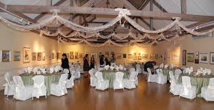 Ceiling Decorations For A Wedding Reception Small White Christmas Lights Were Wrapped In Pale Cream