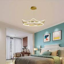 wohnzimmer anhänger le moderne einfache kreative nordic net rot kinder schlafzimmer zimmer licht luxus romantische crown len
