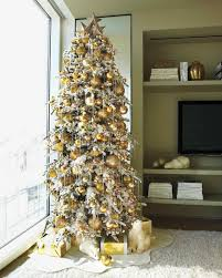 6ft Slim Christmas Tree by 27 Creative Christmas Tree Decorating Ideas Martha Stewart