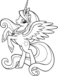 Twilight Sparkle Coloring Page Pony Pages Pin On Princess Free