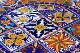 mosaic tile tabletop photograph by lehua pekelo stearns
