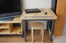 Drafting Table Ikea Canada by An Artist Desk With Paper Storage Ikea Hackers Bloglovin U0027