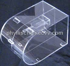 Clear Acrylic Round Faced Candy Bin