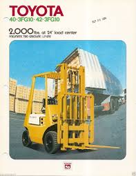 Fork Lift Truck Brochure - Toyota - 40-3FG10 - 42-3FG10 - C1973 ... Coinental Introduce Tire Portfolio For Industrial Trucks For Sale Holloway Industrial 2010 Lp Gas Komatsu Fg25sht16 Cushion Tire 4 Wheel Sit Down Indoor Ather Waroblak Advertisements Solid Forklift Tyres Brockway Trucks Message Board View Topic 155w To Rotary Unveils New Xa14 Alignment Scissor Lift New Models Truck Tyre Suppliers And Manufacturers At Brand Experience The Contidrom Part 1 Jcw Adventures Latest News Vehicle Technology Intertional