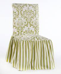 Take A Look At This Green Microfiber Ruffled Damask & Stripe ... Octorose Classic Micro Suede Set Of Two Chair Covers 1 Pc Soft Fniture Slipcover For Loveseat 20 Luxury Design Microfiber Ding Seat Room Chairs Off White Eamoxyz Parson For Your Interior Ideas Maria Upholstered Serta Reversible Stretch Slipcovers Short Skirt Microsuede Parsons 2