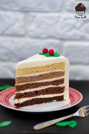 weihnachtlicher ombre cake aus der dr oetker