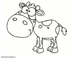 Coloriage De Vache À Imprimer Imprimable Coloriages Dessin