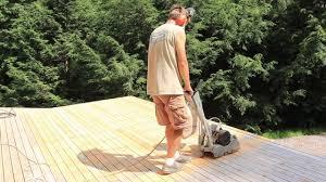 floor sander deck sanding cedar youtube