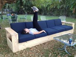 unique outdoor sofa wood simple outdoor wood furniture