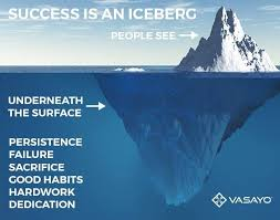 Success is an iceberg There s more under the surface s