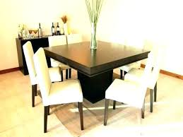 Standard Dining Chair Dimensions 8 Table Seat Room Set Square
