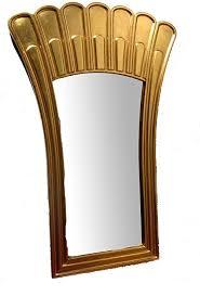 spiegel wandspiegel cm 70 x 108 blatt gold deco design