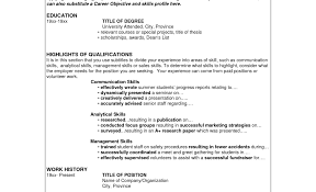 How To Write A Professional Summary For A Resume by Exle Resume Summary Section Exle Of Resume Summary