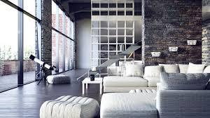 100 Urban Loft Interior Design Two Beautiful S Visualized Modern Loft Apartment